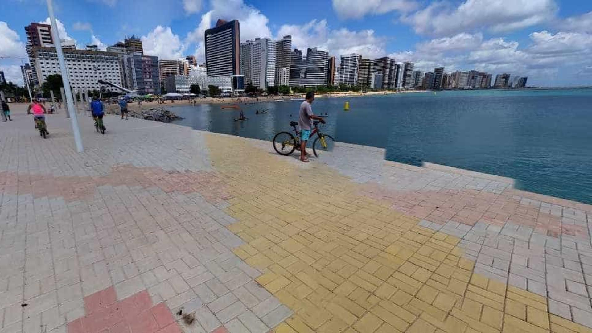 Fortaleza terá primeira ciclovia-modelo do Brasil