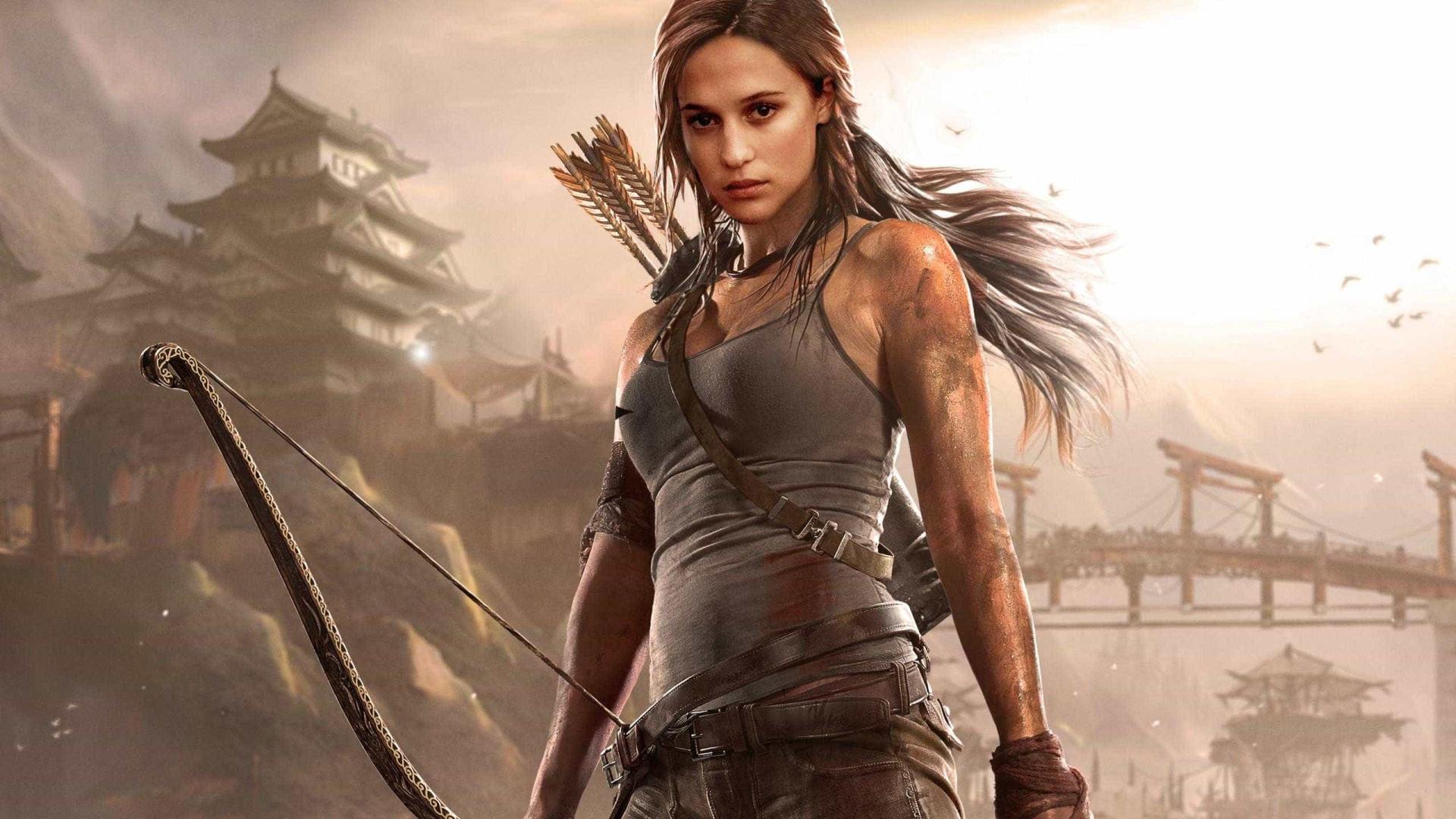 Adaptação de 'Tomb Raider' com atriz vencedora do Oscar ganha teaser
