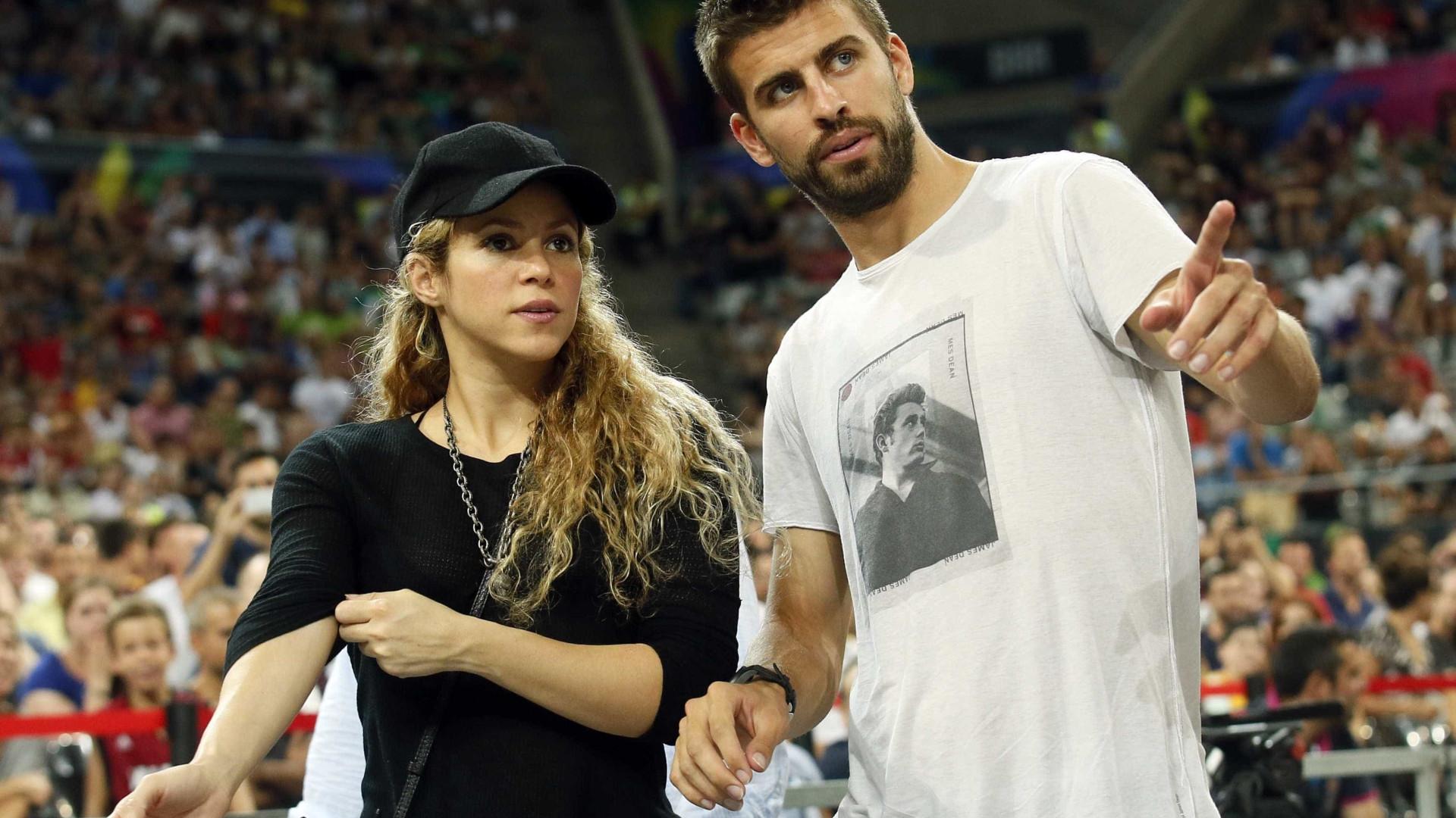Em meio a rumores de separação, Piqué 'se declara' para Shakira
