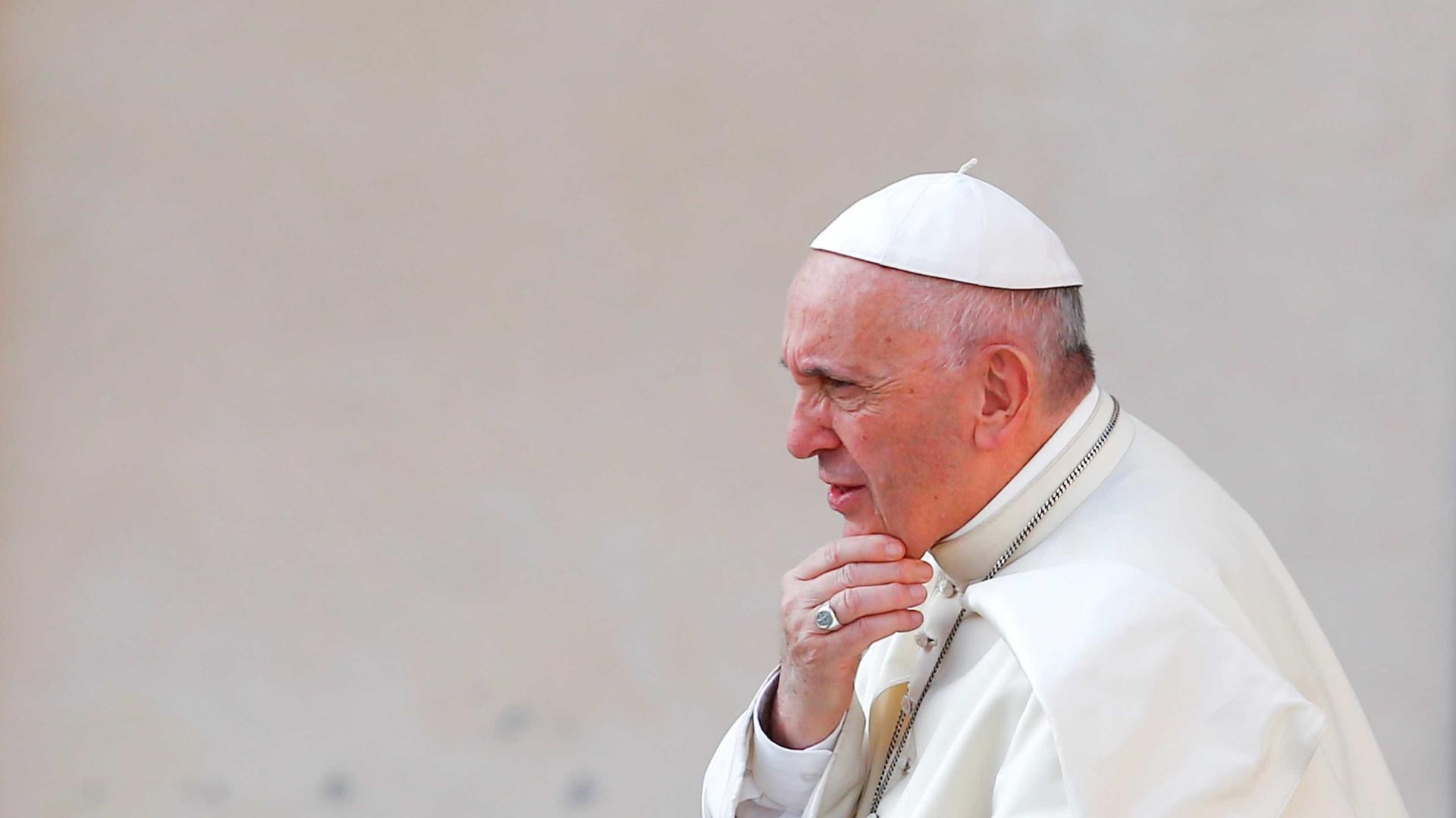Papa pede união do clero brasileiro contra a corrupção