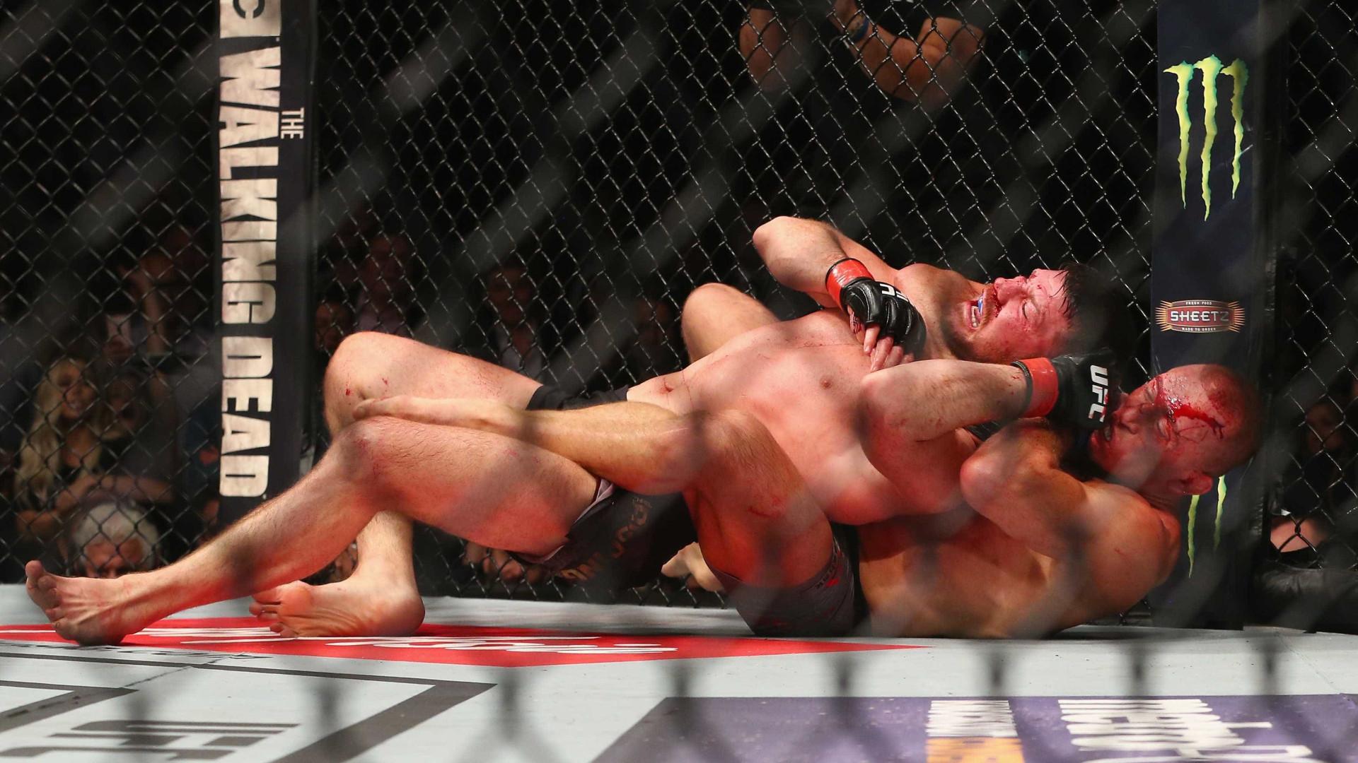 GSP atropela Michael Bisping e conquista segundo cinturão do UFC