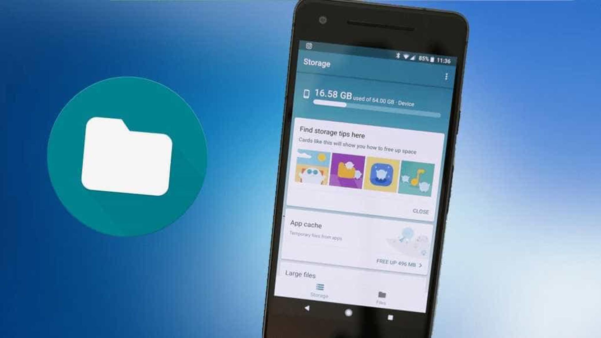 Aplicativo ajudar a liberar espaço em celulares Android