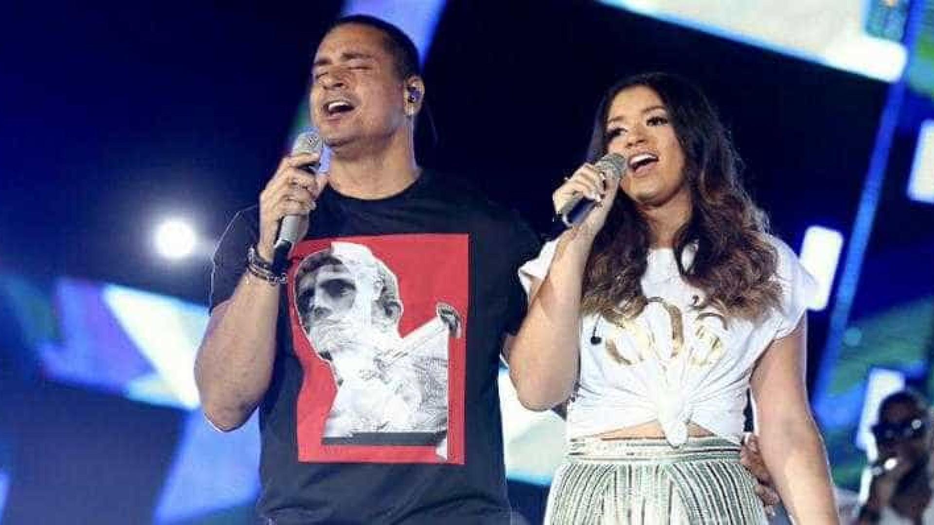 Xanddy divulga música com a filha, Camilly: 'Vai ficar pra história'