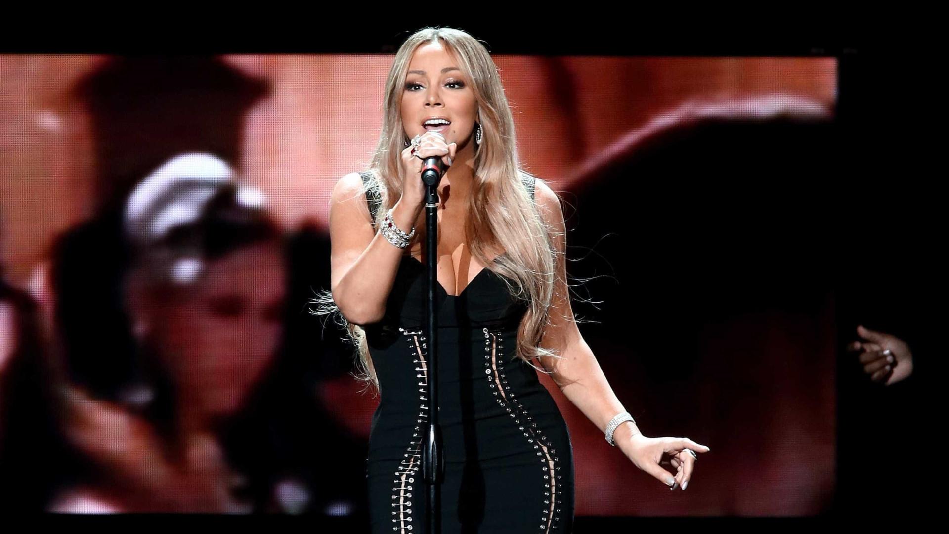 Mariah Carey aparece 11 quilos mais magra após redução de estômago