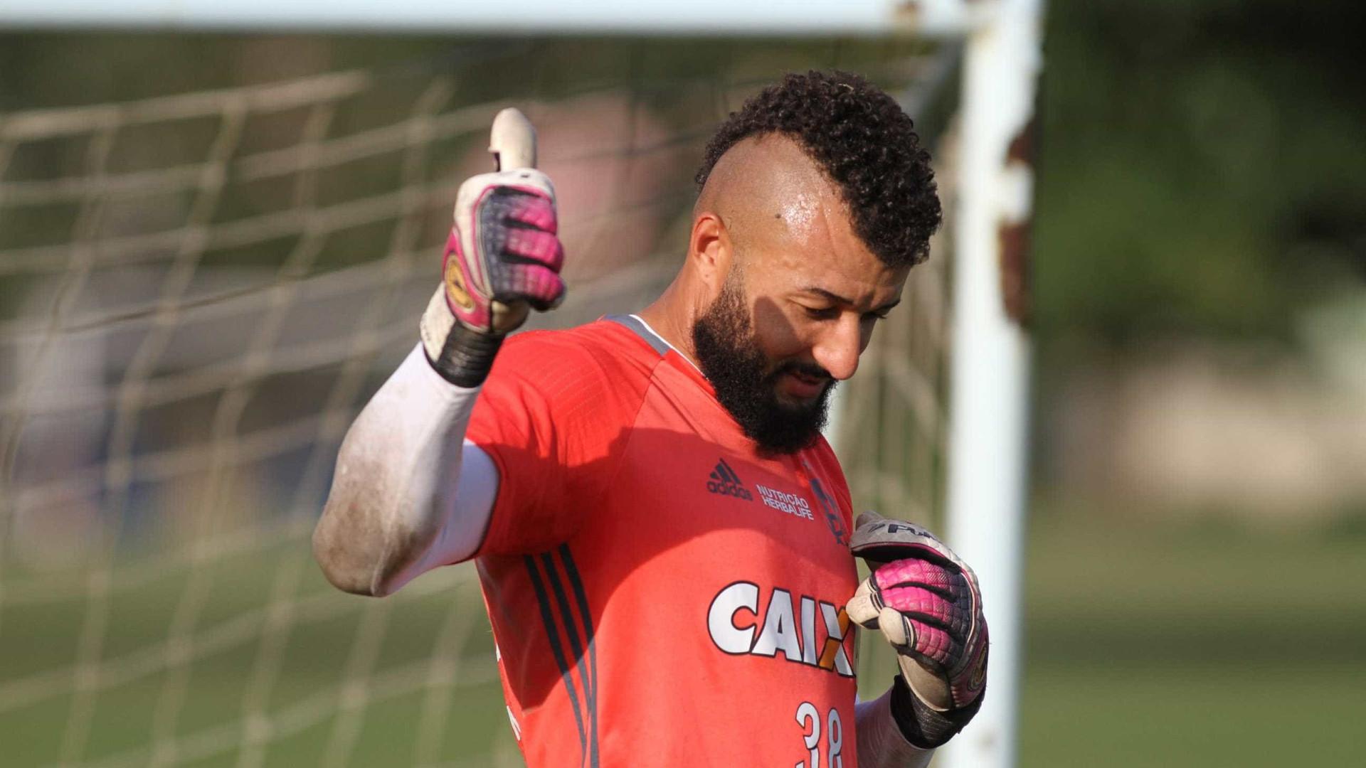 Muralha: 'Quero dar a volta por cima e voltar para o Flamengo'