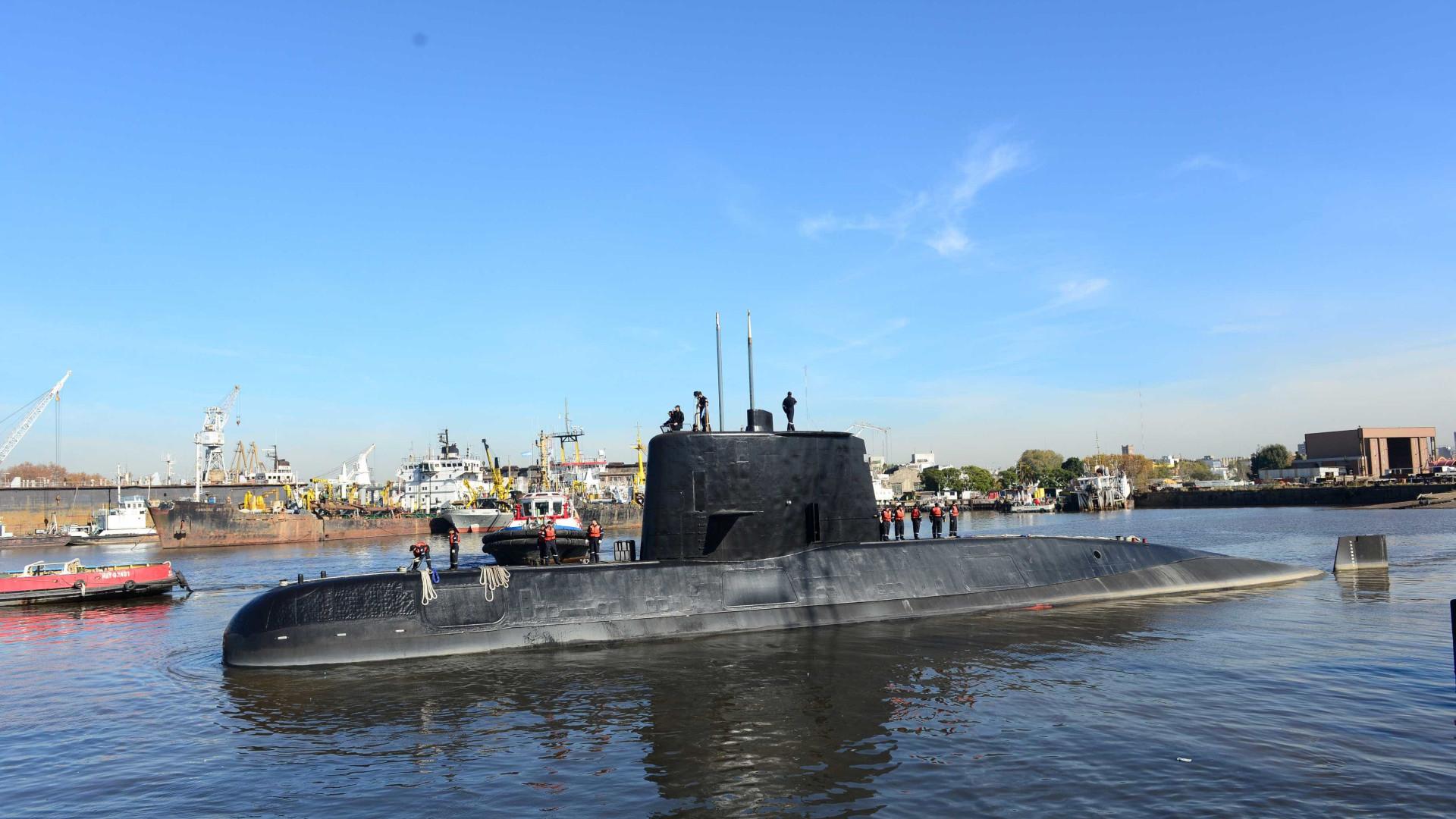 Chamadas não eram de submarino; último contato reportou problemas