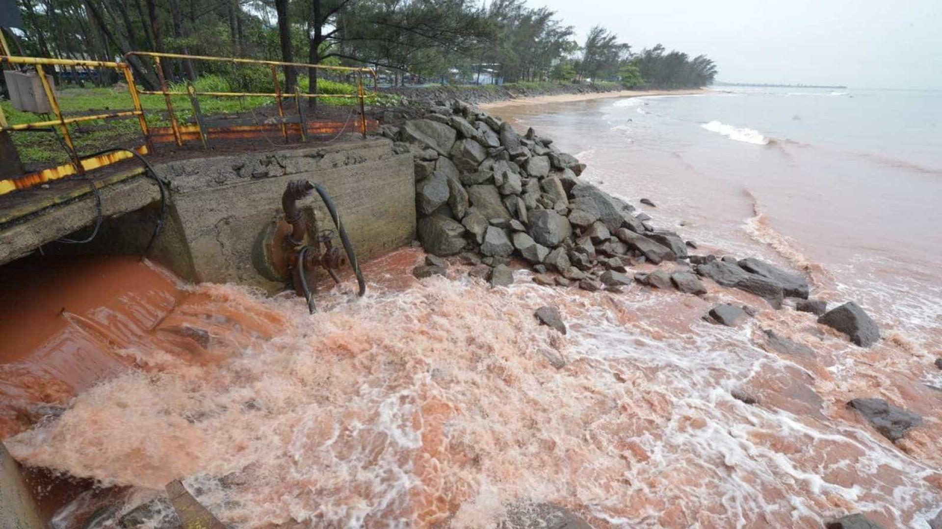 Lançamento de efluentes no mar rende multa milionária à Vale