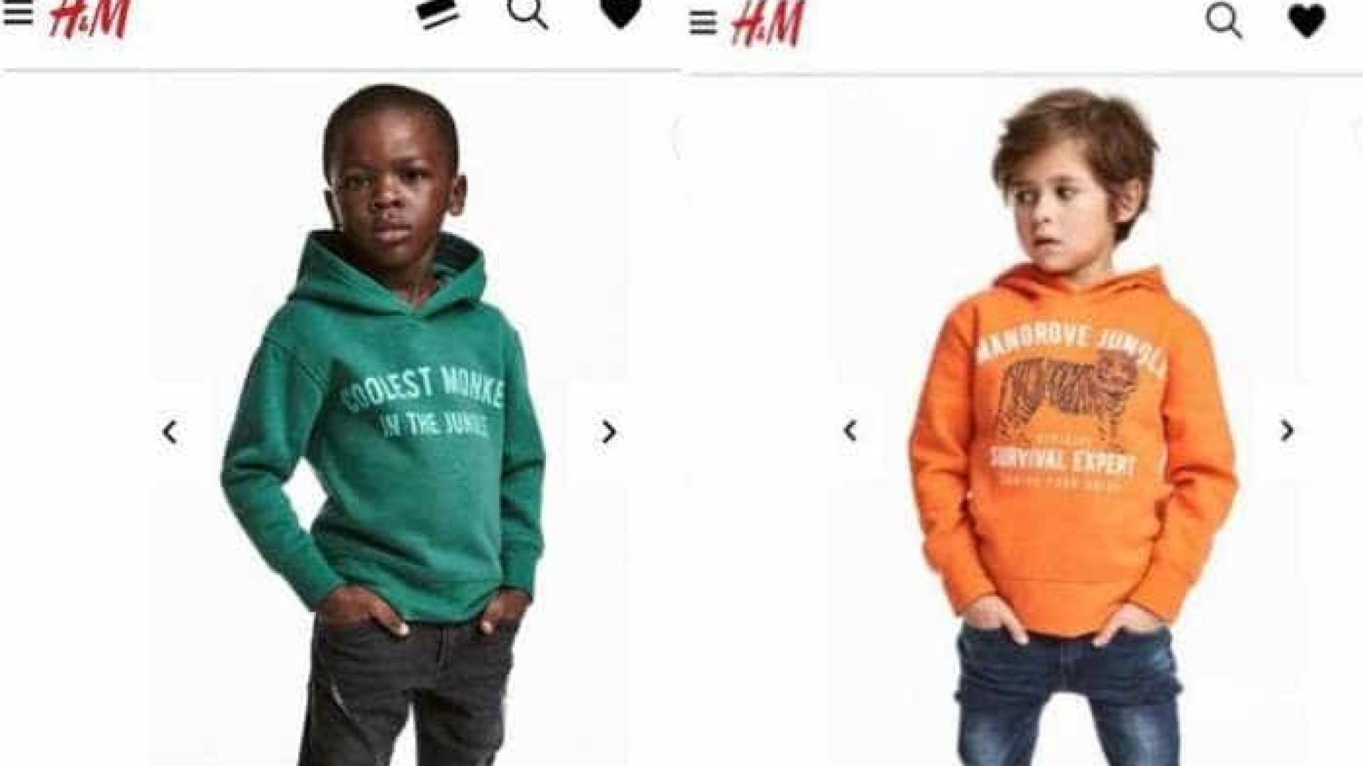 Acusada de racismo, H&M retira propaganda de site