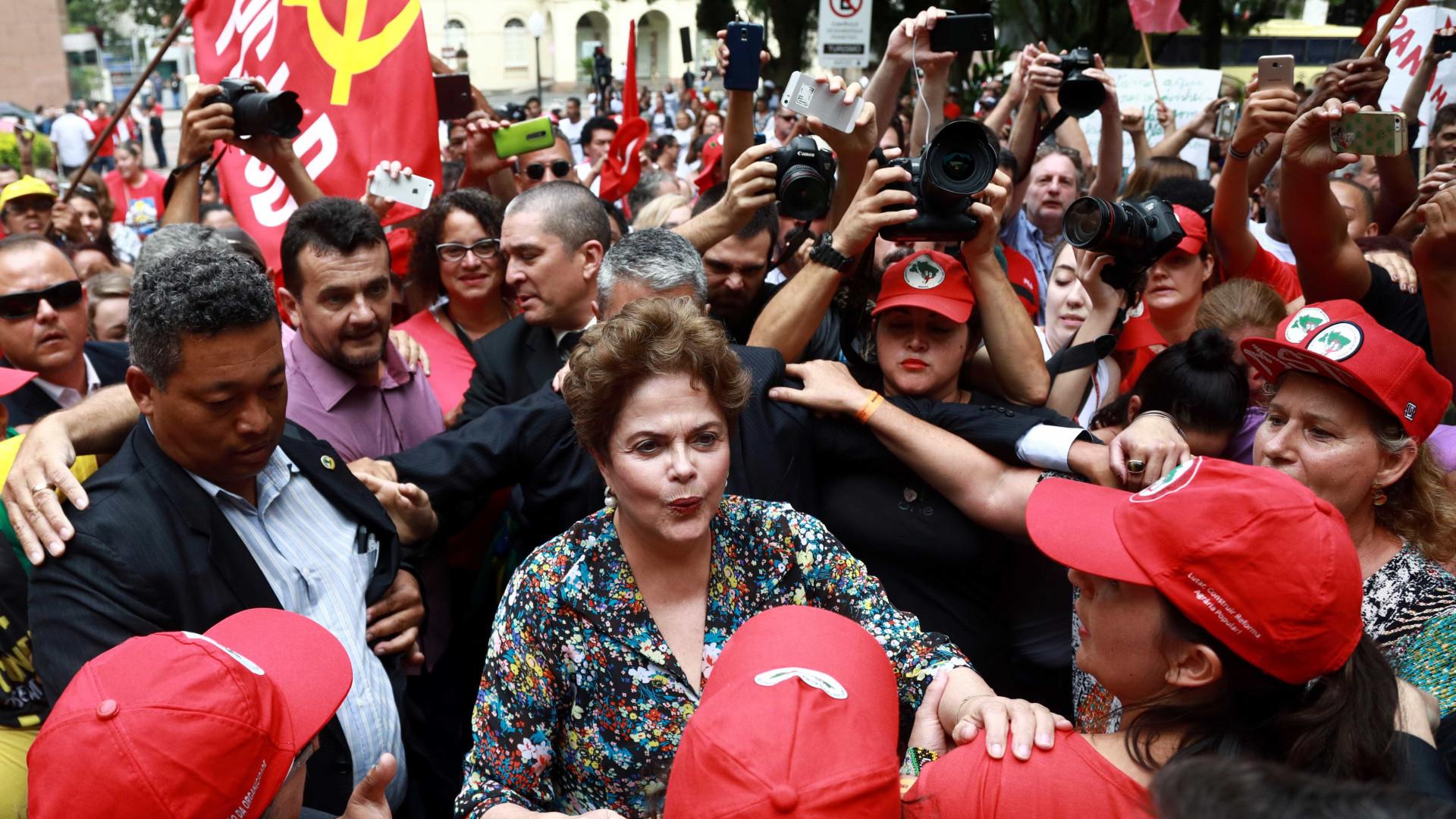'Lula é inocente e por isso não temos plano B', diz Dilma