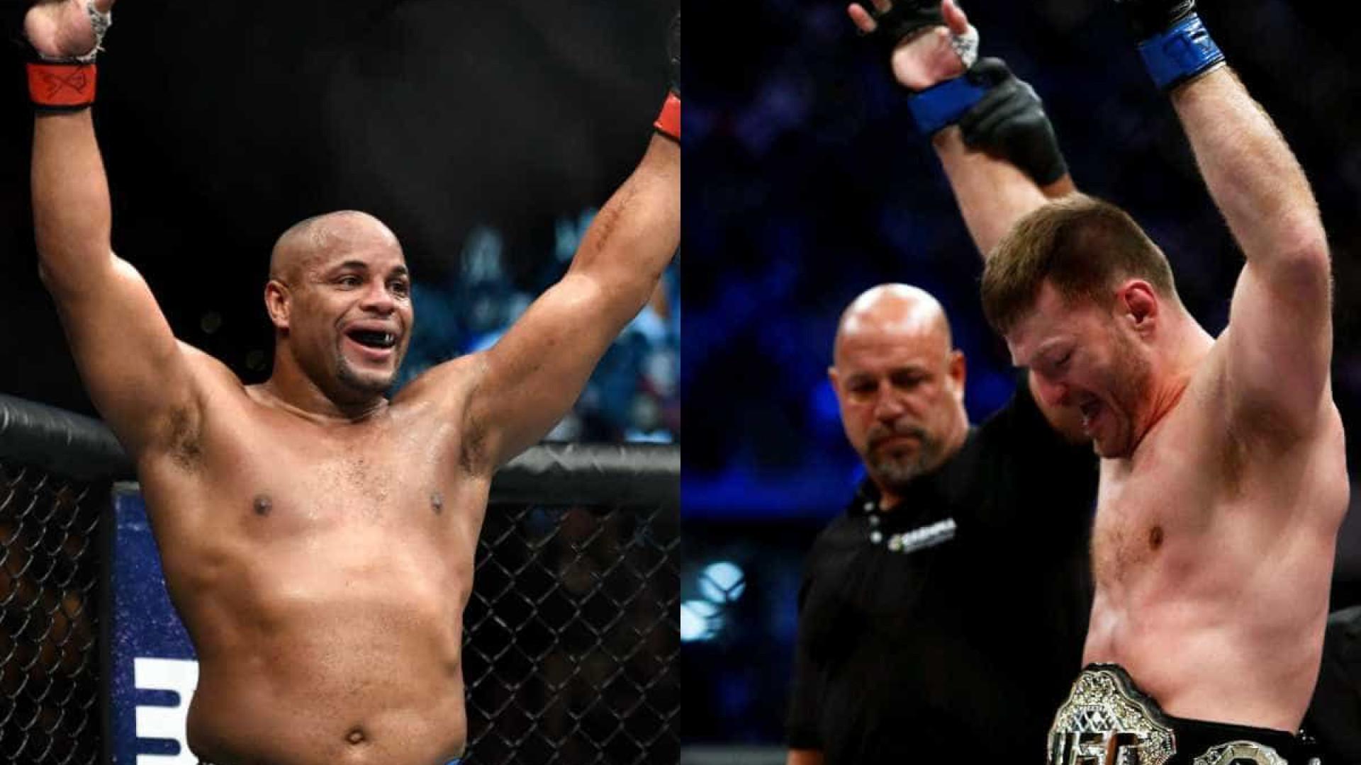 UFC anuncia superluta entre Miocic e Cormier