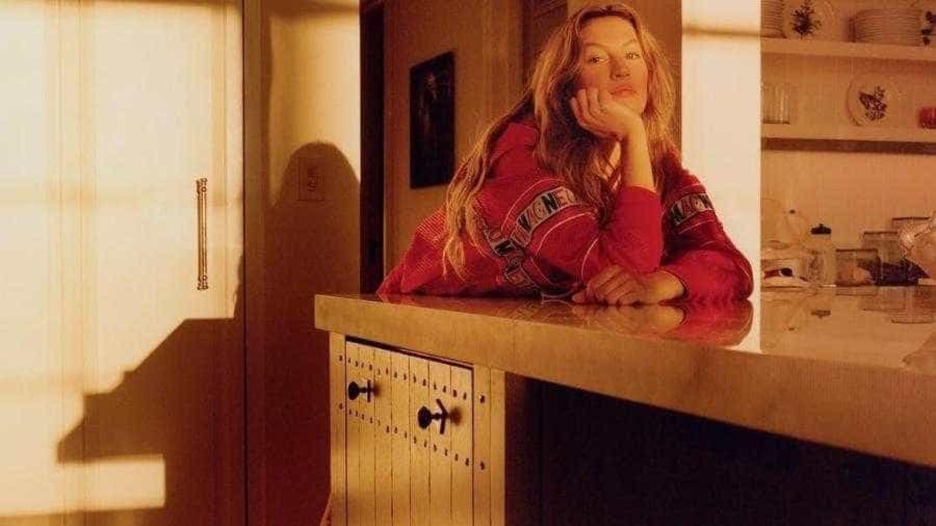 Gisele Bündchen mostra sua casa para revista de moda