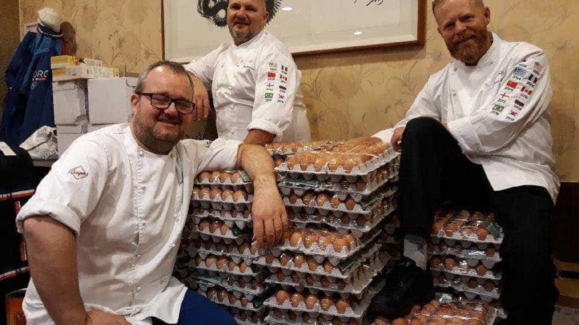 Erro no Google Tradutor faz delegação da Noruega receber 15 mil ovos