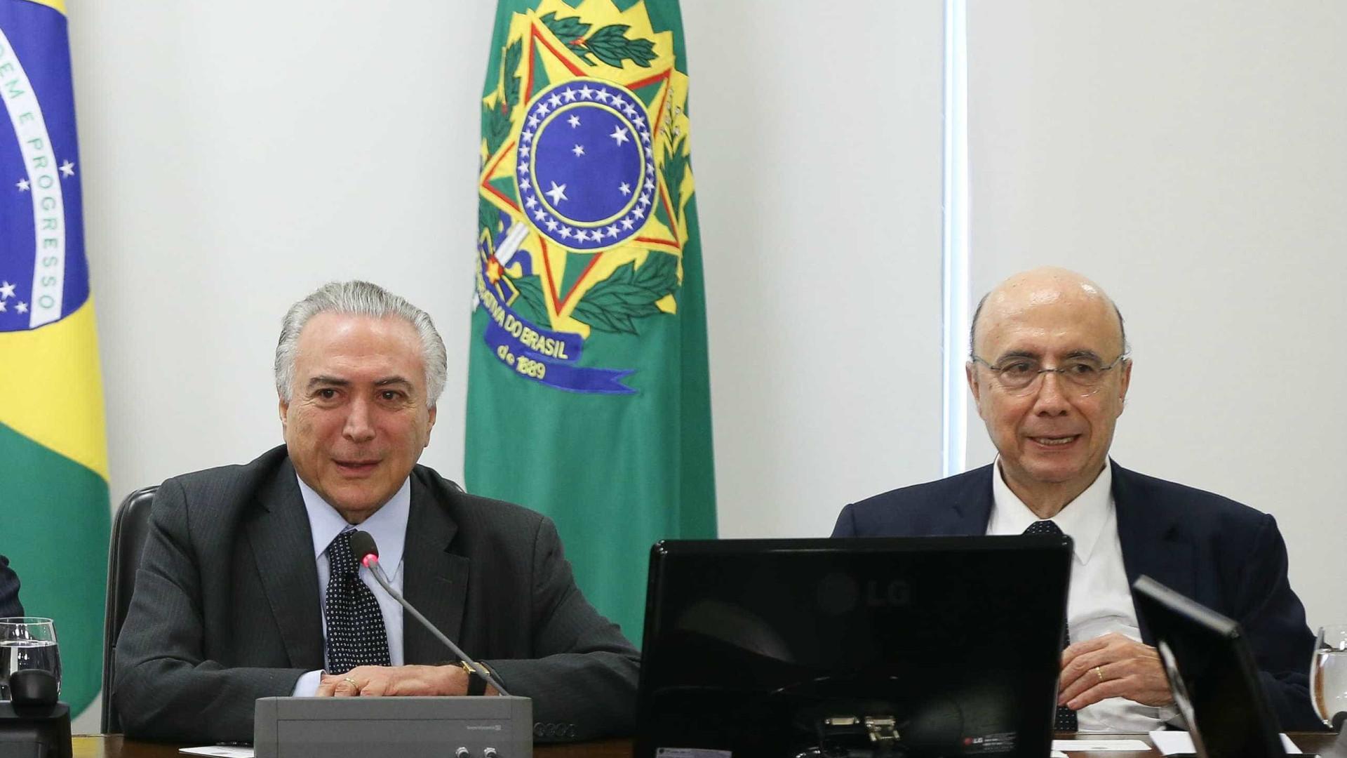 Possível candidatura de Temer à reeleição atrapalha planos de Meirelles