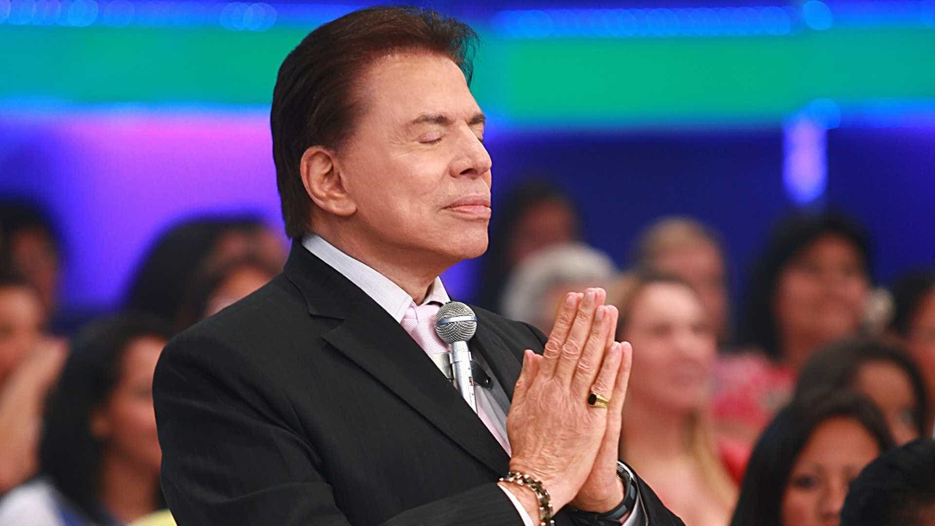 Silvio Santos cancela trabalhos após passar mal em gravação