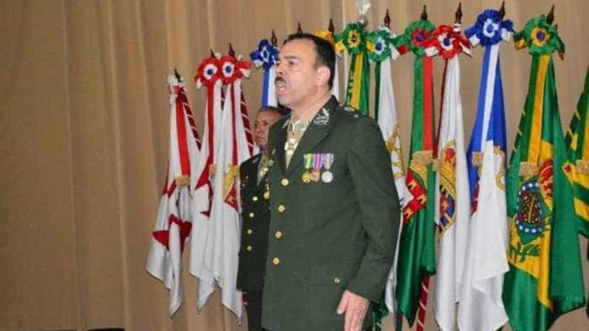 Secretário de Segurança do Rio será general do Exército