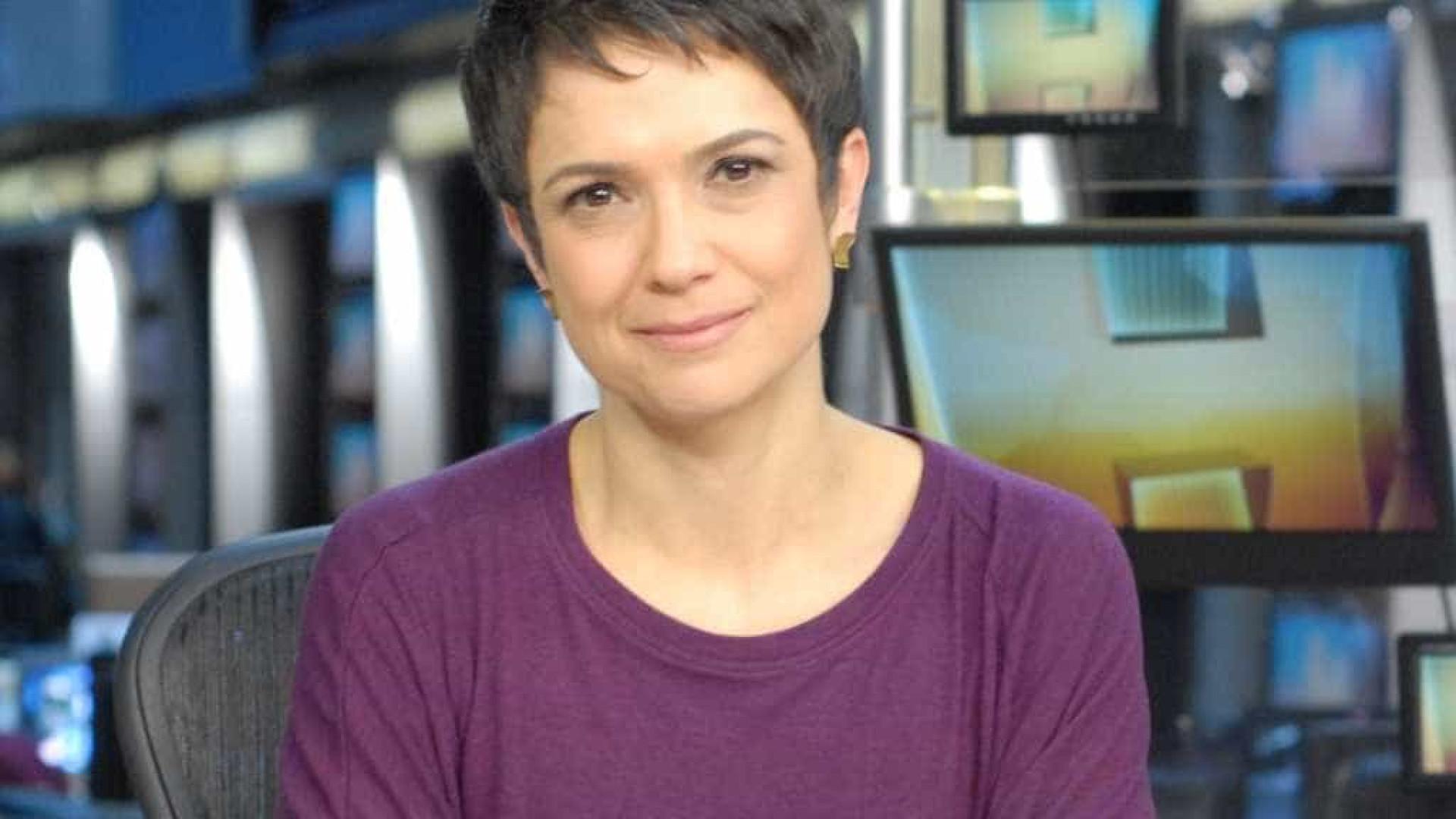 Sandra Annenberg chama Temer de 'ex-presidente' e pede desculpas