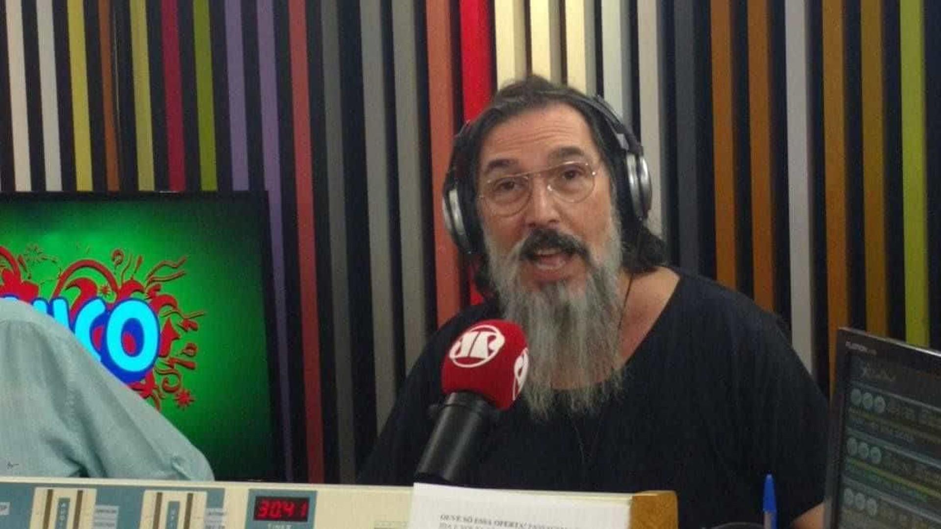 Lobão relembra apoio a MST: 'Período sombrio das drogas pesadas'