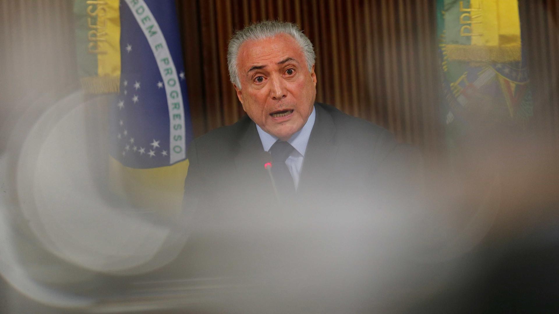 Senador defende impeachment de Temer por causa de obra nacasa de filha