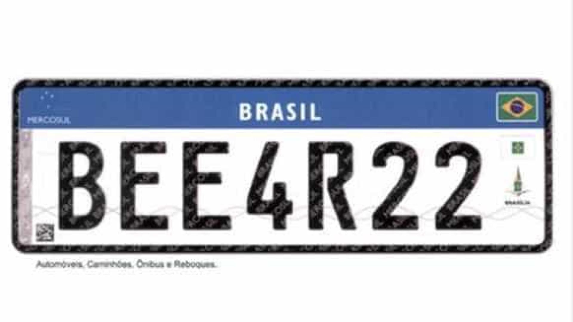Rio de Janeiro deve ser o primeiro estado a adotar placa do Mercosul