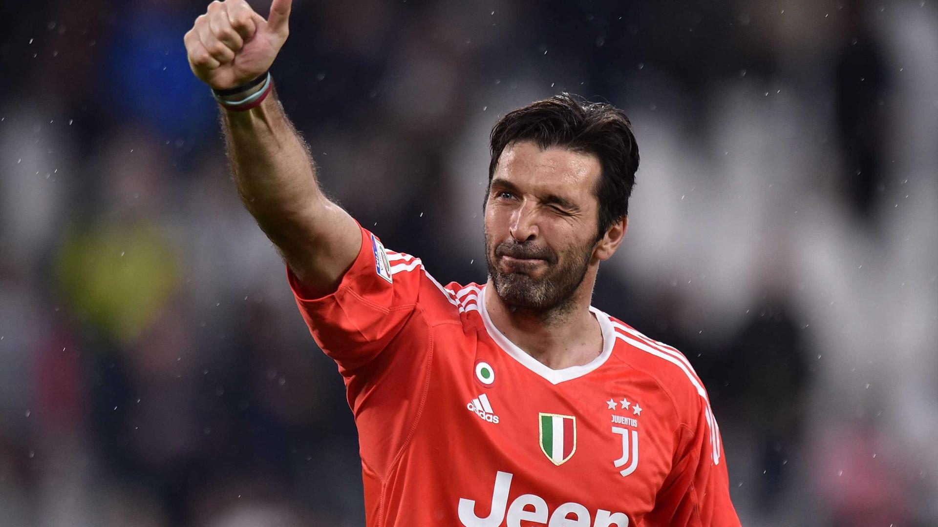 Aos 40 anos, Gianluigi Buffon confessa ter medo da aposentadoria