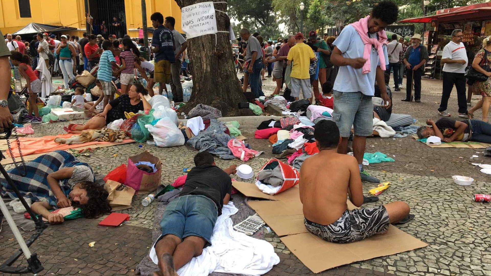 Maioria no Paissandu não é vítima do desabamento, diz Prefeitura