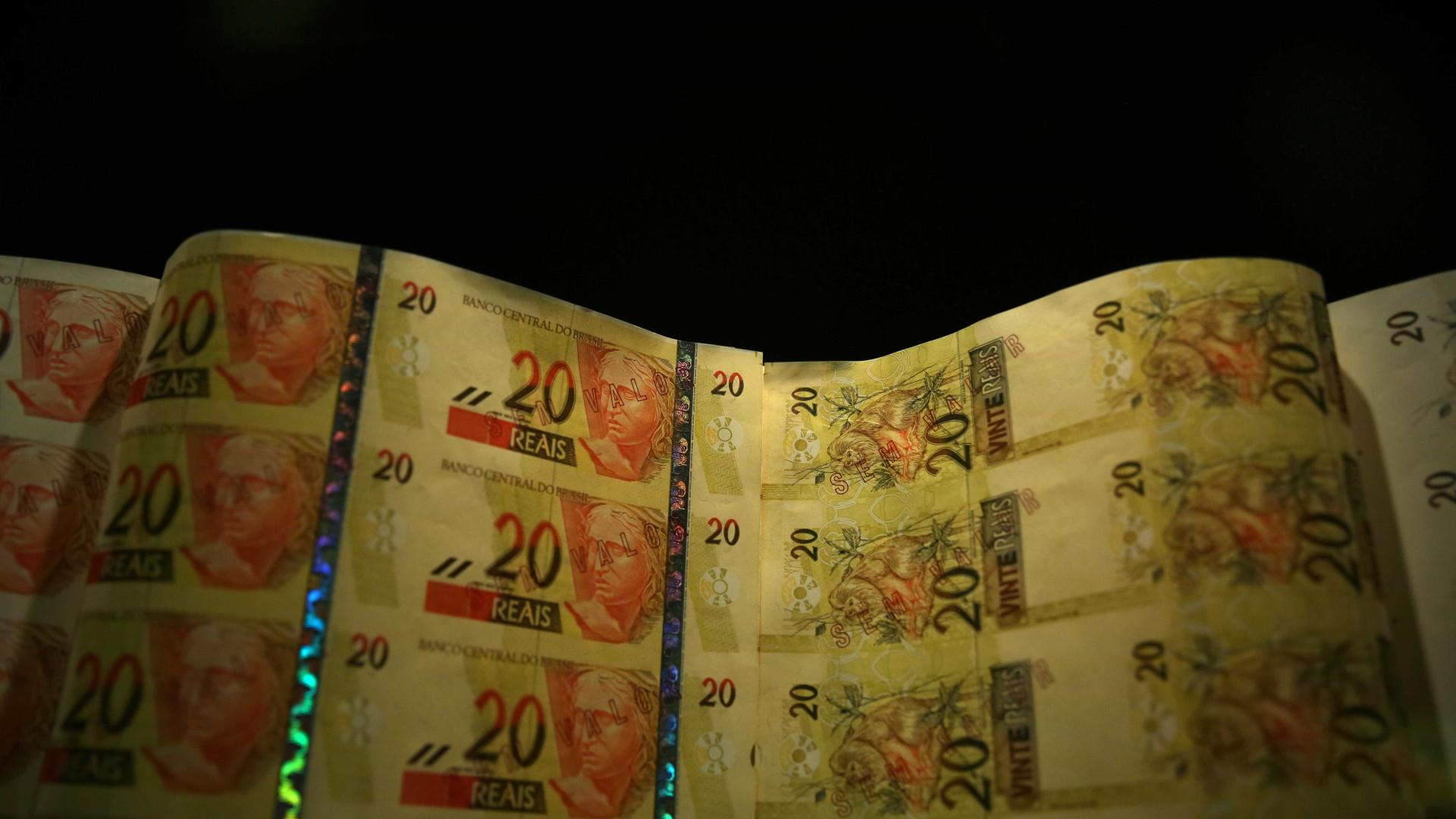 Real está entre as dez maiores desvalorizações do dia