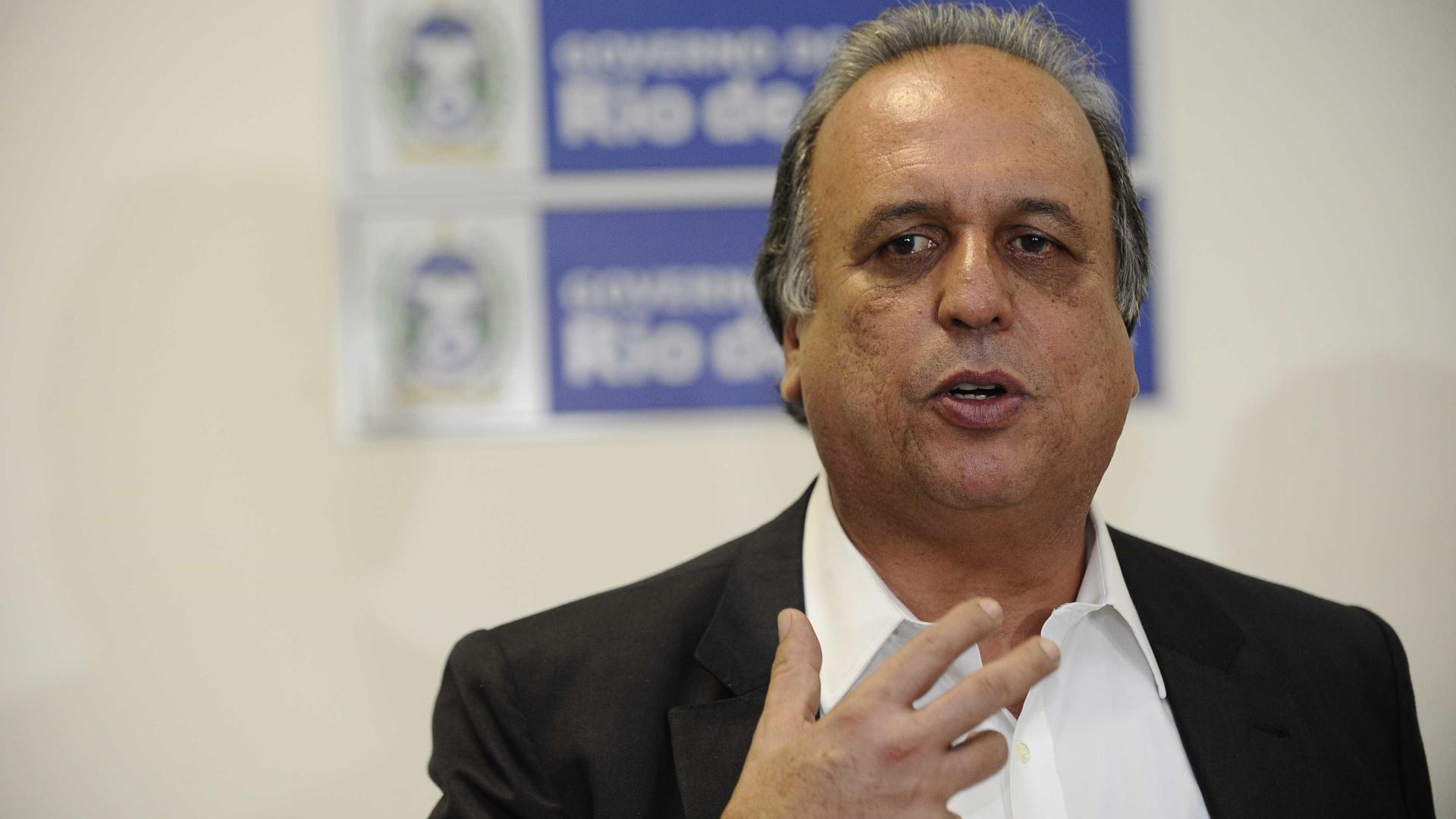 Pezão pede R$ 1,5 milhões da Lava Jato para obra no Palácio Laranjeiras