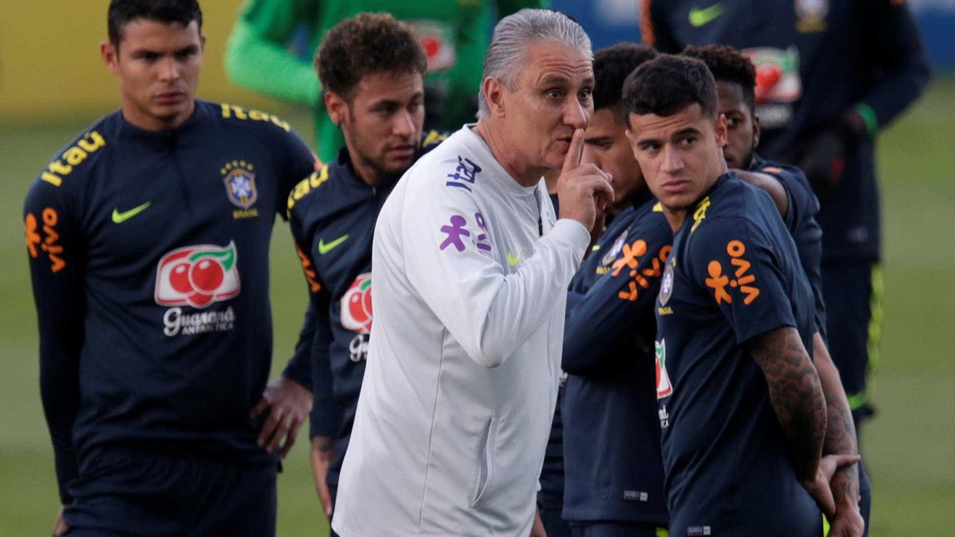 Tite arma seleção ofensiva em amistoso, mas não confirma equipe da Copa