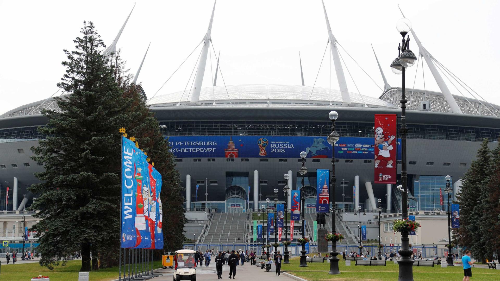 Copa enfrenta ameaça de ataques de 'extremistas ucranianos'