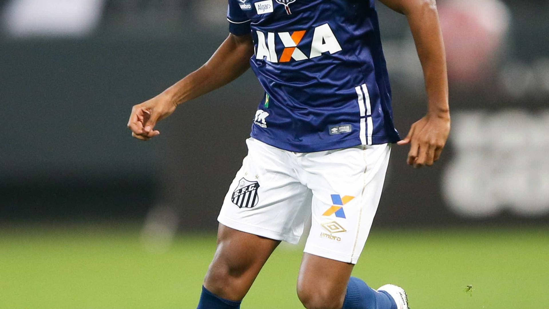 Rodrygo abandona concentração do Santos após imbróglio com Real Madrid