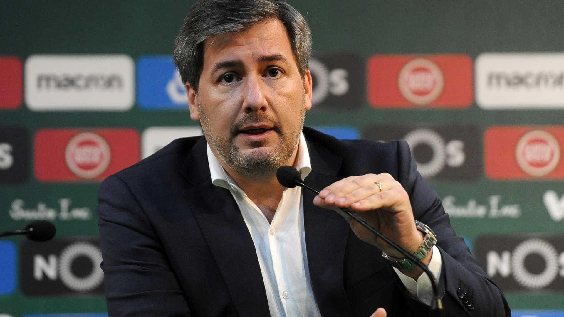 Sporting afasta presidente após rescisão de convocados por Portugal