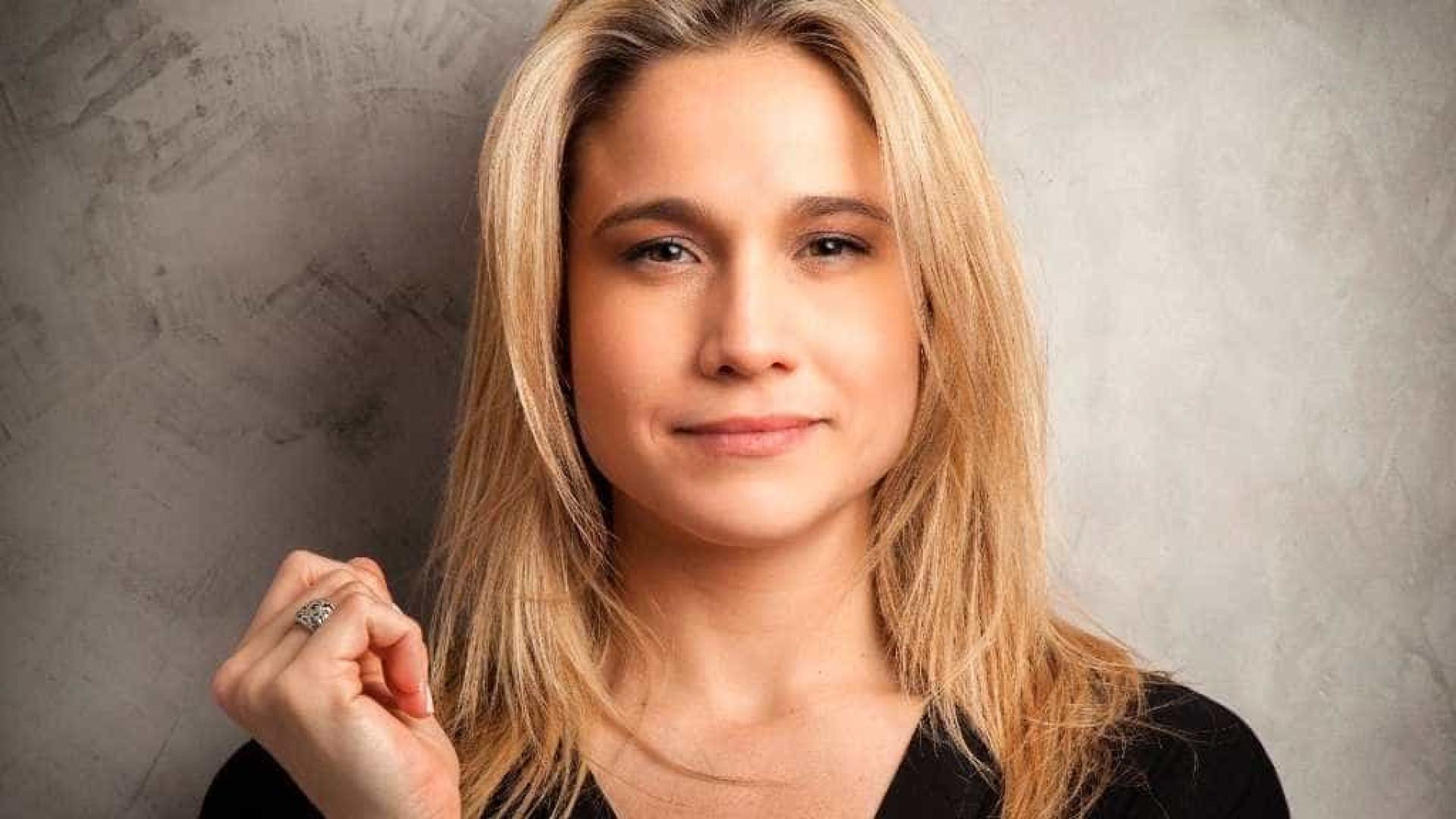 Fernanda Gentil passa mal e não participa de programa nesta segunda