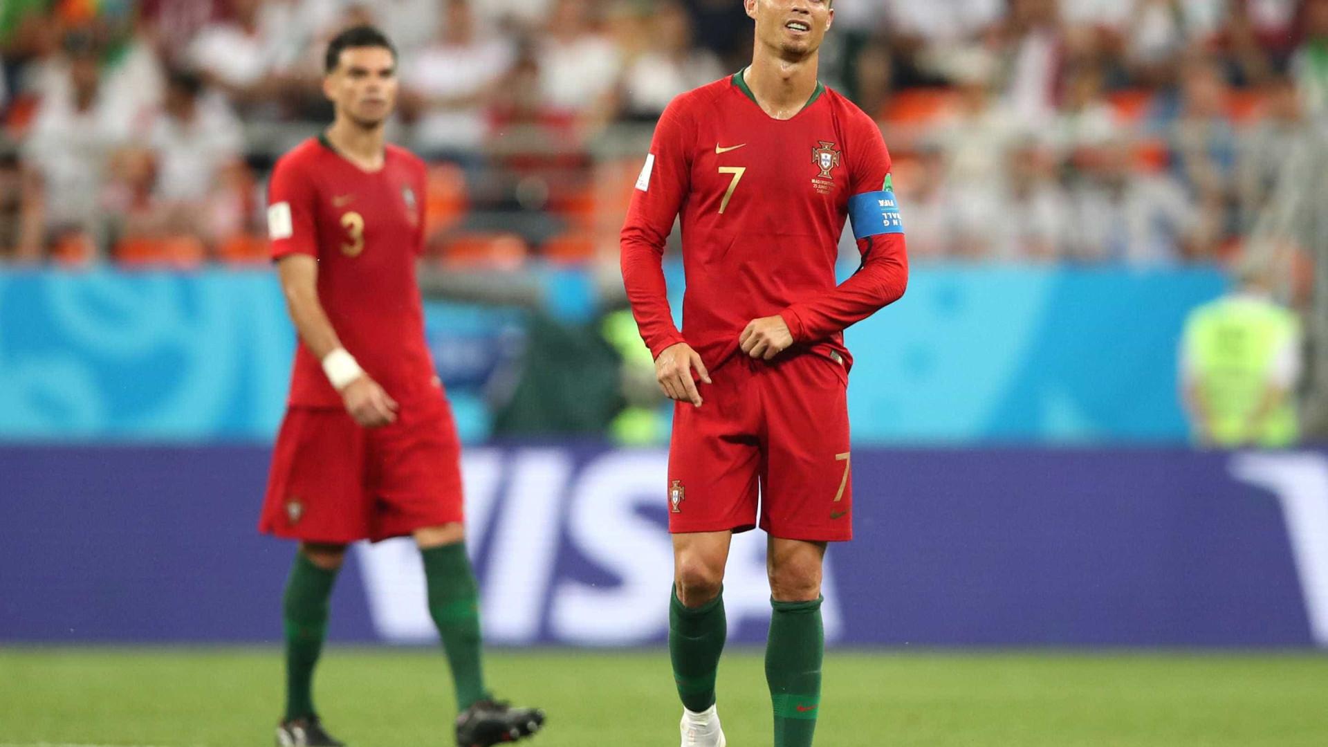 CR7 perde pênalti, mas Portugal se classifica com empate diante do Irã