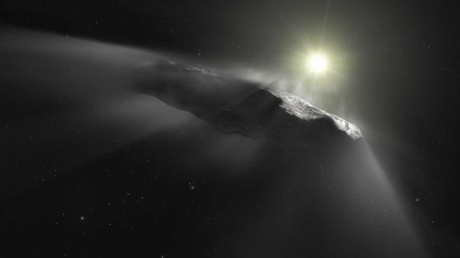 Estudo revela que objeto interestelar era cometa