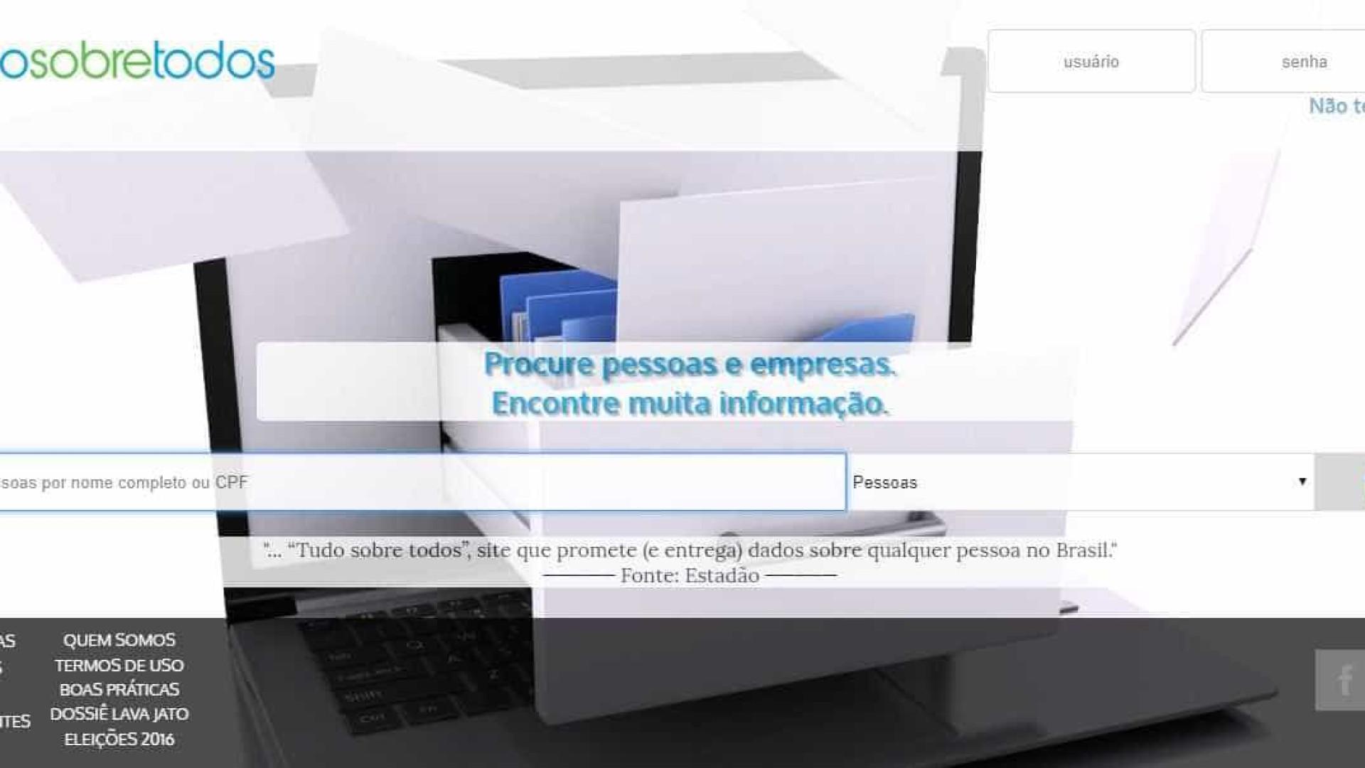Site que vende CPF, endereço e mais dados pessoais é investigado