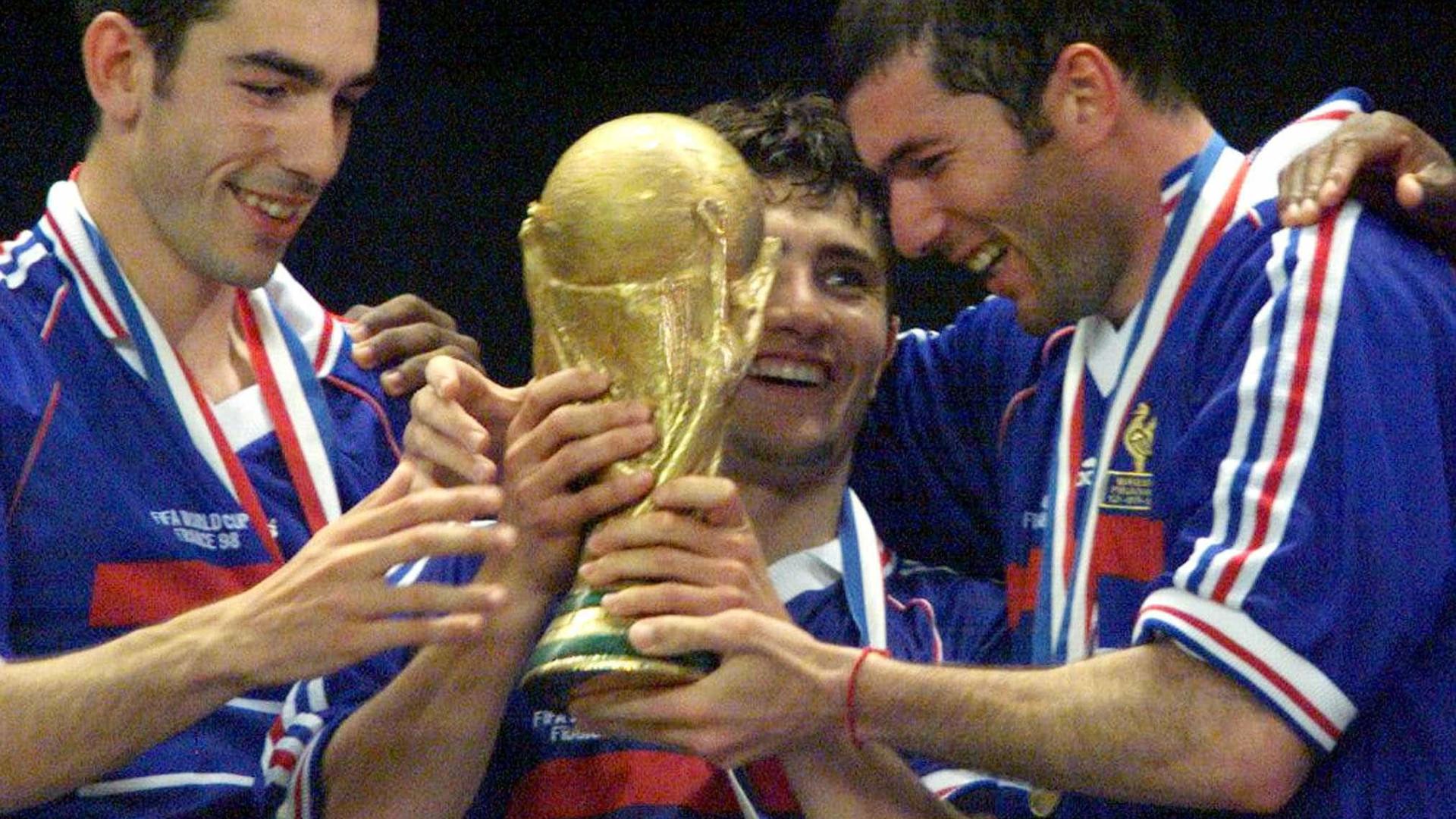 Título mundial da França completa 20 anos nesta quinta