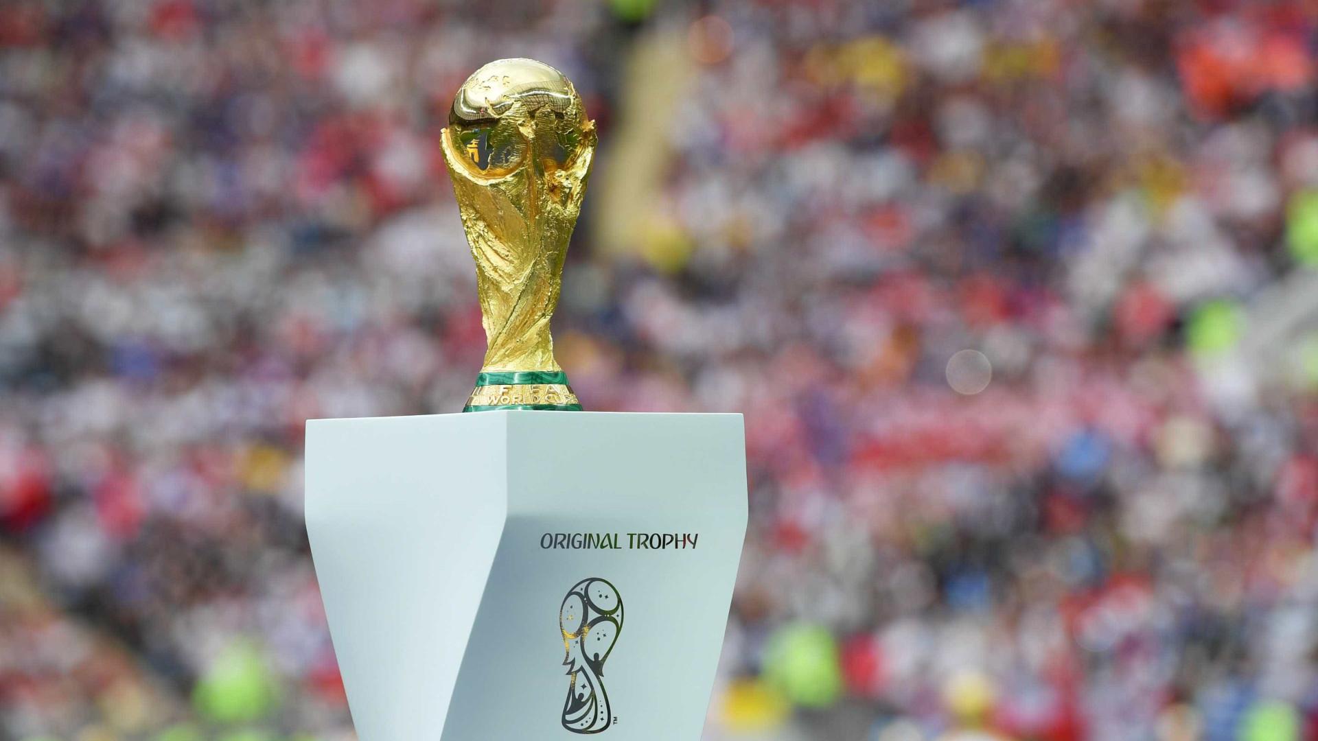 Para onde vai a taça da Copa do Mundo após a comemoração?