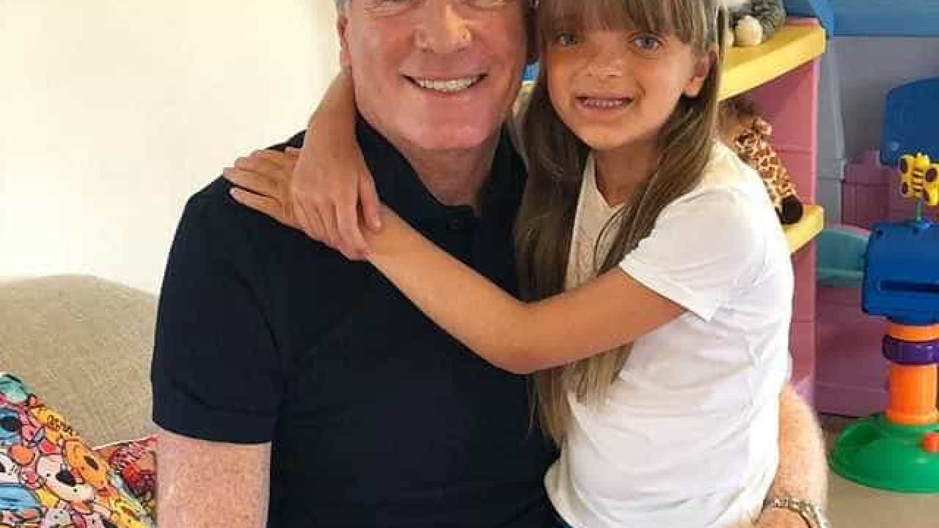 'Você é minha alegria', diz Justus ao celebrar 9 anos da filha Rafaella
