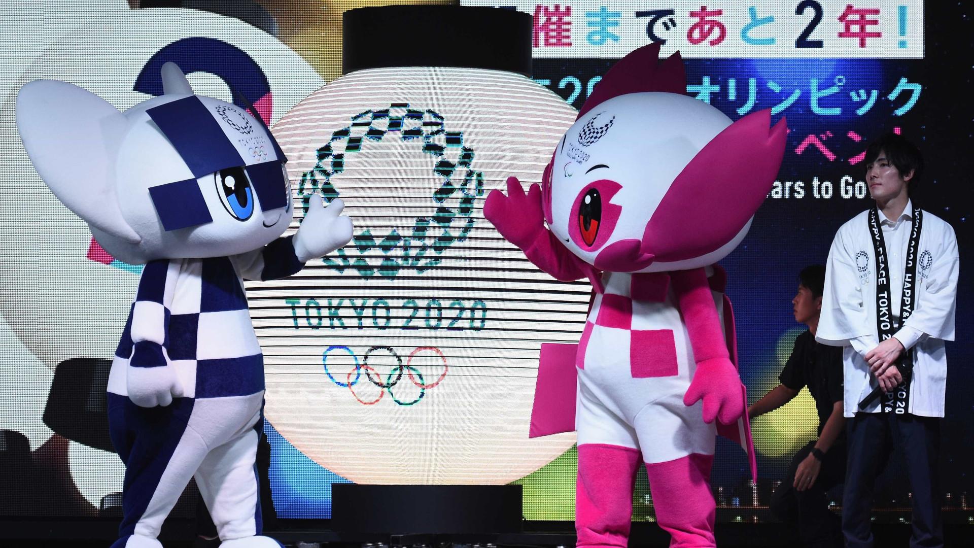 Com festa, Tóquio inicia contagem regressiva de dois anos para Jogos