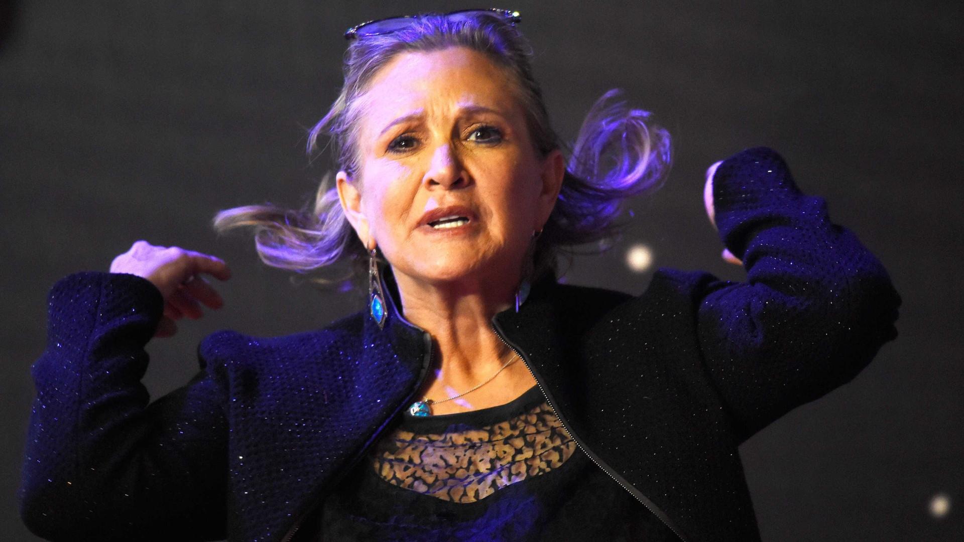 Novo filme de 'Star Wars' vai ter aparição póstuma de Carrie Fisher
