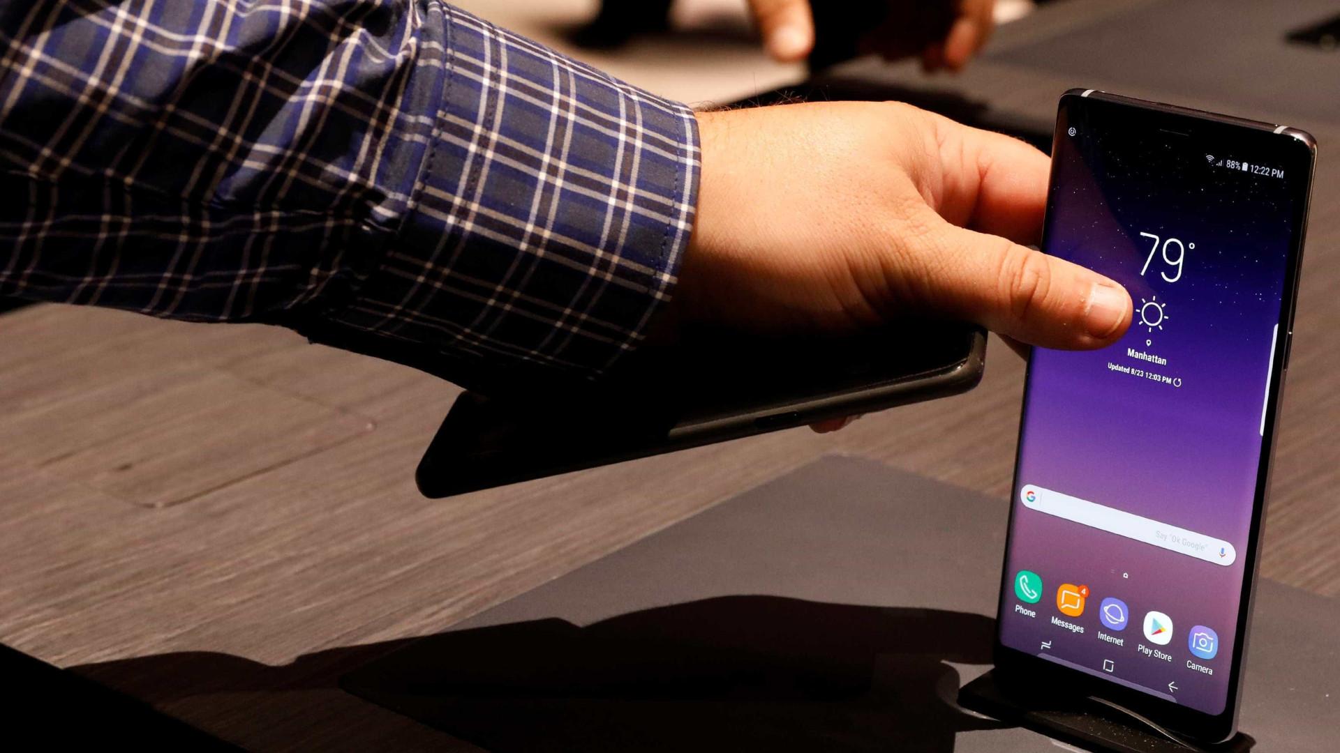 Compare funcionalidades do Galaxy Note 8 e 9