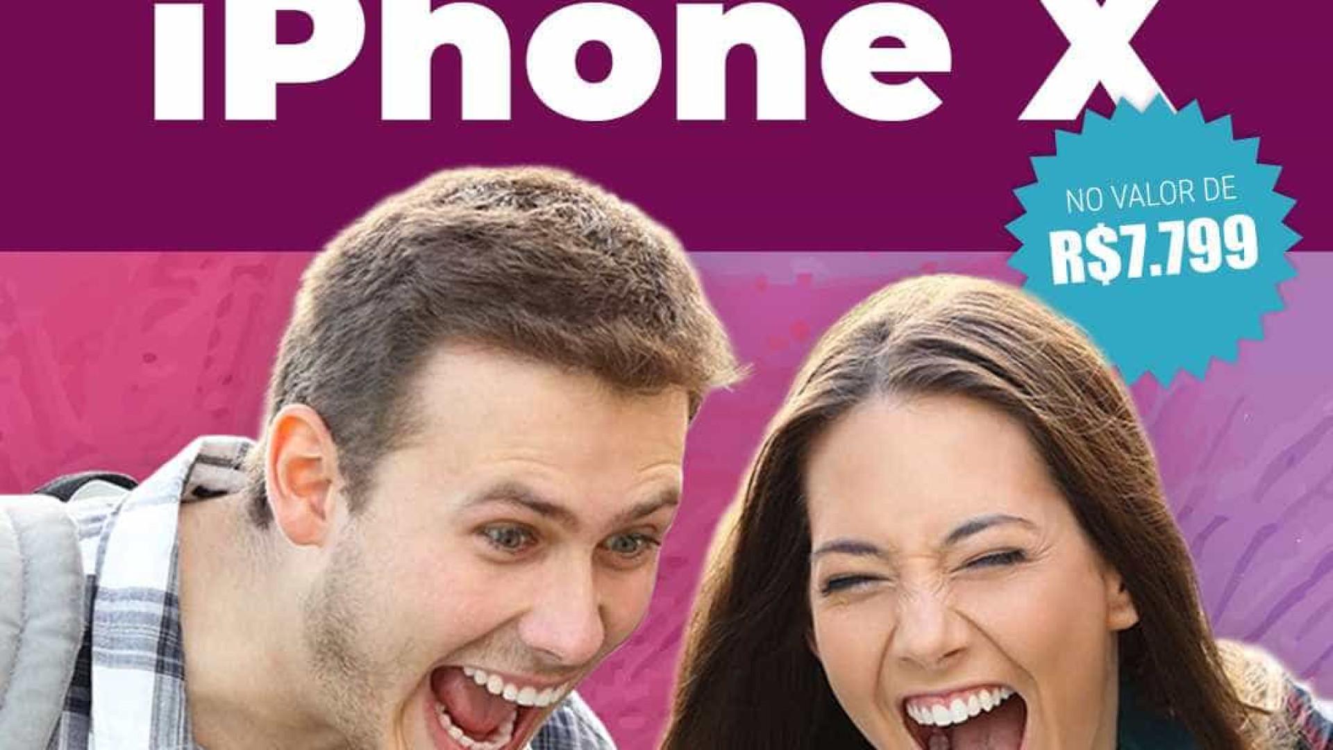 Campanha do Notícias ao Minuto dá iPhone X de R$ 7.799; participe
