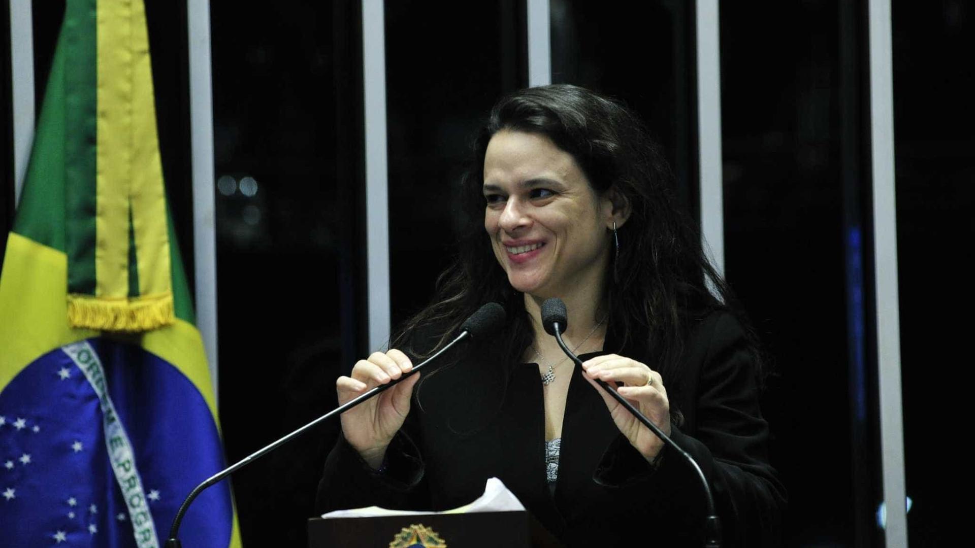 Janaina Pachoal fala sobre ser cotada para vice de Bolsonaro