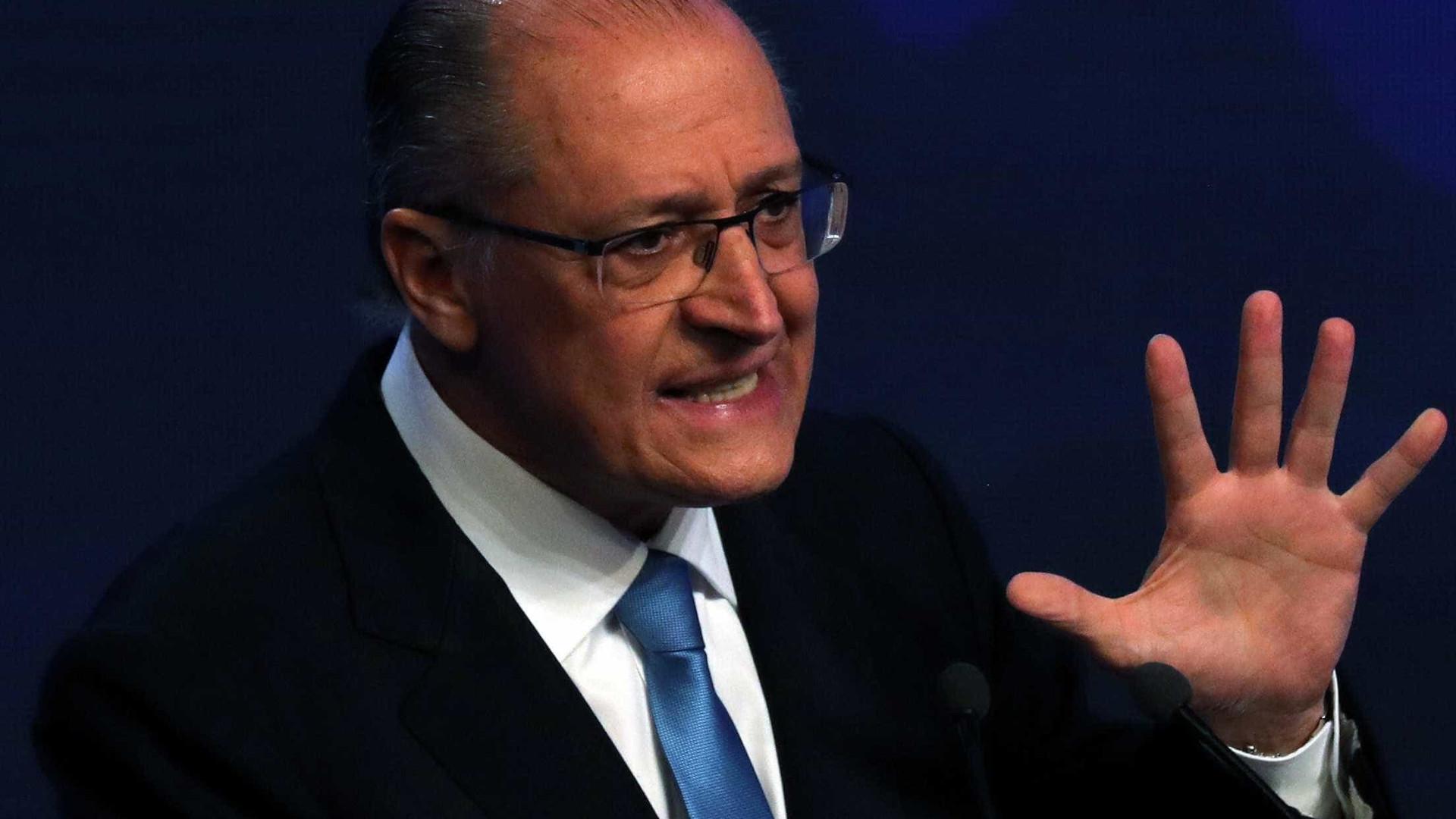 Alckmin defende privatizações para 'estado mais forte'