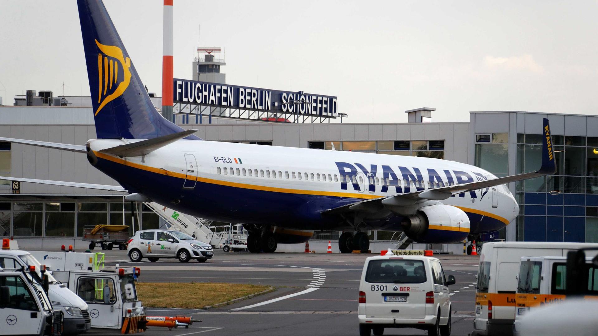 Greve da Ryanair cancela centenas de voos em 5 países europeus