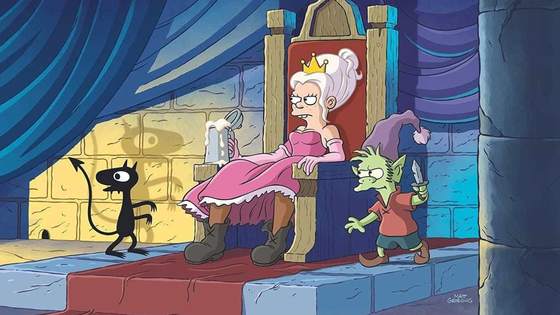 Nova série do criador de 'Os Simpsons' estreia nesta sexta-feira