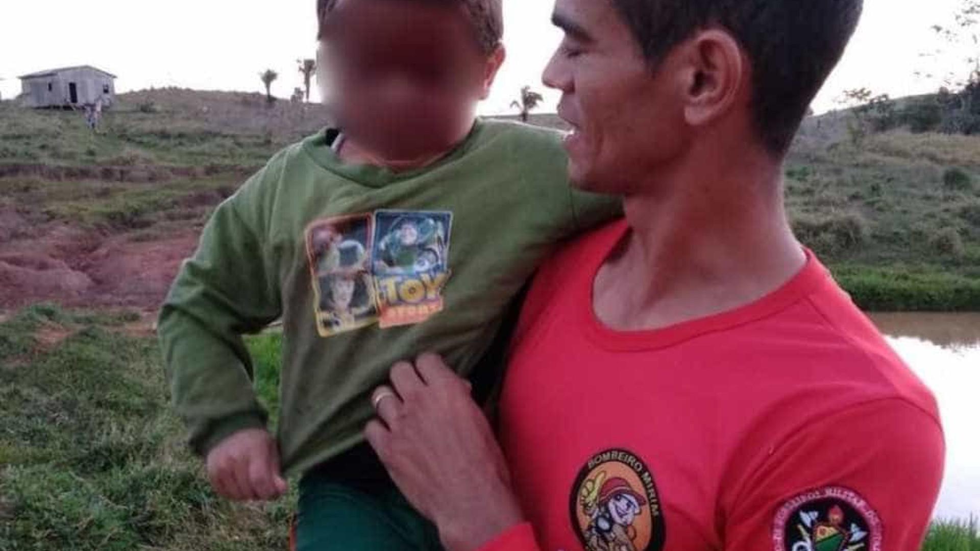 Menino de 4 anos é resgatado após quase 10 horas desaparecido em mata