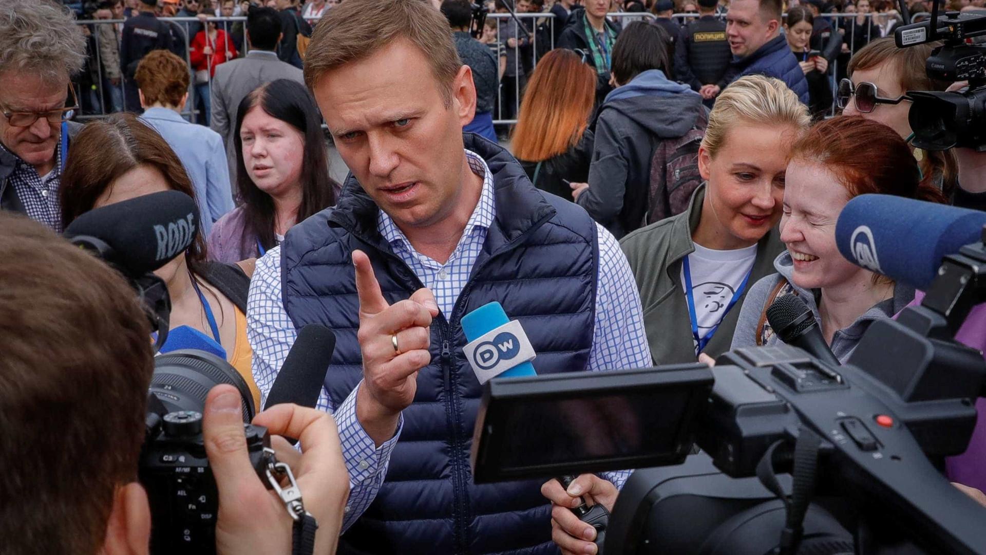 Opositor de Putin, Alexei Navalni é preso novamente em Moscou