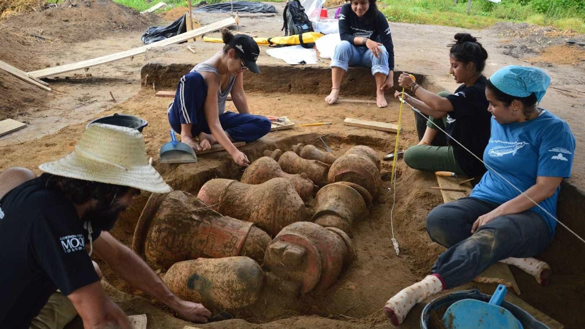 Cemitério indígena de 500 anos é encontrado na Amazônia