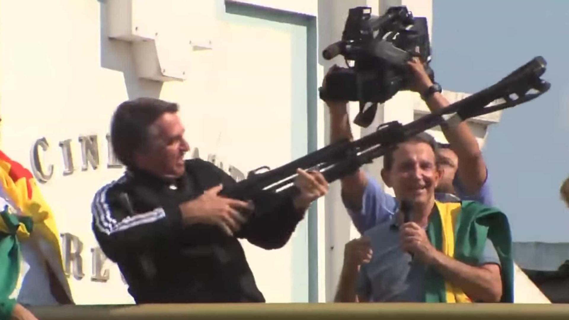 PT vai ao STF contra Bolsonaro por vídeo sobre 'fuzilar a petralhada'